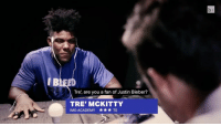 """Fake, Justin Bieber, and Sports: Tre, are you a fan of Justin Bieber?  TRE' MCKITTY  IMG ACADEMY TE Do you like Bieber? The truth comes out as IMG Academy takes a fake lie detector test. BRVarsityLive presents """"The Future of the NFL"""" with IMG Academy vs. Bishop Sullivan Catholic High School this Saturday, Nov. 19 at 7 p.m. ET exclusively on Facebook Live"""