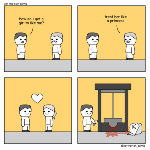 treat her like a princess [oc]: treat her like a princess [oc]