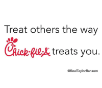 Lol, Memes, and Christian Memes: Treat others the way  CRick-  fil,& treats you  @RealTaylorRansom 10 Hilarious Christian Memes that Made us LOL This Week!