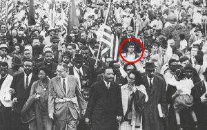 Bernie Sanders, Martin, and Martin Luther King Jr.: trebled-negrita-princess:  thvgginn:  Bernie Sanders marching behind Martin Luther King Jr. in the 1963 March on Washington DC.  I like that seeing him everywhere in historic photos is like playing Where's Waldo