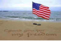 Dogs, Memes, and Thank You: Trees  3-yl  reeo own My heroes wear Camo boots and dog tags ~ whether it was by land, sea, air or some place in between, THANK YOU for your service, sacrifices & our freedom.