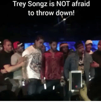 TreySongz out here Thugging!! @pmwhiphop: Trey Songz is NOT afraid  to throw down! TreySongz out here Thugging!! @pmwhiphop