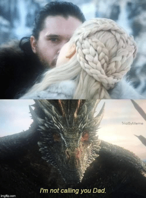 44 Brand Spankin' New Game of Thrones Season 8 Memes: TrialByMeme  I'm not calling you Dad  imgfip.com 44 Brand Spankin' New Game of Thrones Season 8 Memes