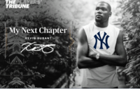 BREAKING: Kevin Durant to sign with the #Yankees  h/t @anthony102501: TRIBUNE  My Next Chapter  KEVIN DURANT BREAKING: Kevin Durant to sign with the #Yankees  h/t @anthony102501