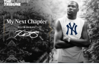 Kevin Durant after Stanton went to the Yankees. https://t.co/qFlH1v5a8V: TRIBUNE  My Next Chapter  KEVIN DURANT Kevin Durant after Stanton went to the Yankees. https://t.co/qFlH1v5a8V