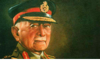 Tributes to first chief of Indian Army  Field Marshal K. M. Cariappa on his birth anniversary _/\_: Tributes to first chief of Indian Army  Field Marshal K. M. Cariappa on his birth anniversary _/\_