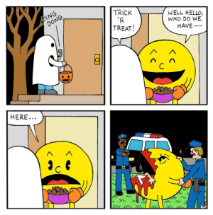 Dank, Hello, and Memes: TRICK  TR  TREAT!  DING  WELL HELLO,  WHO DO WE  HAVE  DONG  HERE  Y. Muscle memory by mattjh MORE MEMES