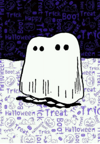 Boo, Halloween, and Memes: Trick  Trick  Treat  Happy  Hallowee  ween  Trick  Boo!  Neem  reat  Trick  Halloween Treat  rei Trick Halloween  PNTS
