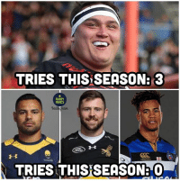 Memes, Rugby, and Saracens: TRIES THIS SEASON: 3  RUGBY  MEMES  Insta  TRIES THISSEASON: Stats don't lie 👌🏼😂😂 rugby jamiegeorge saracens