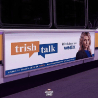 Memes, Netflix, and New York: trish Weekdays on  talk WNEX  NEW YORK's NUMBER ONE TALKRADIO  LISTEN TO  WHAT'S NEXT ON  WNEX JESSICA  UNES This is a collection of the official promo posters and concept art for the Netflix series Jessica Jones.