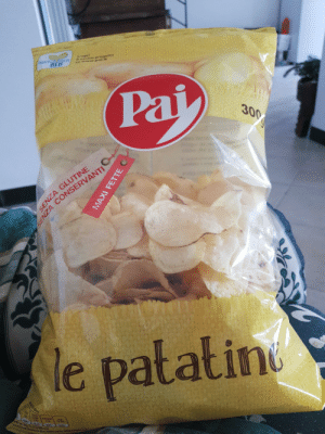 Good, Idea, and Chips: tro progetto  300  le patating Employee of the month decided it would be a good idea to make the only half filled bag of chips see-through