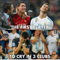 CR7 Award 😂👏🏆: TROLL  FOOTBALL  LFOOTBALL HD  OTBALL.HD  THEAFIRST PLARYER  TROLL  FOOTBALLO  /TROLLFOOTBALL.HD  @)@TROLLFOOTBALL.HD  TO CRY IN 3 CLUBS CR7 Award 😂👏🏆