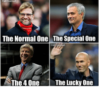 Football, Memes, and Troll: Troll Football  The Normal One The Special One  Troll Raoulall  The 4 One  The Lucky One Follow @footy.goal ⚽️