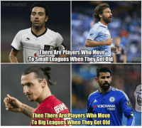 choice is your own: Troll Football  There Are Players Who Move  ToSmall Leagues when TheyGetold  Troll Footbal  TYRES  Then There Are Plavers Who Move  To Big Leagues When They GetOld choice is your own