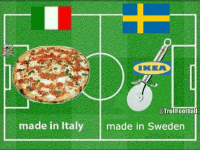Memes, Sweden, and Italy: @Trollfootball  made in Italy  made in Sweden Summary of Sweden vs Italy (📷: @GabrielTrolin ) https://t.co/wdfMVmPlu1