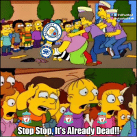Live scenes from the Etihad https://t.co/p5vi4QmFWp: TrollFootball  O TheFootballTroll  2  LIVERPOOL  IVERPOOL  IVERPOOL  Stop Ston, It's Already Dead!! Live scenes from the Etihad https://t.co/p5vi4QmFWp