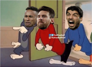 Neymar after the UCL draw https://t.co/zDd5Y0IEe1: TrollFootball  O TheFootballTroll Neymar after the UCL draw https://t.co/zDd5Y0IEe1