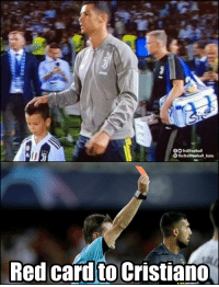 Be Like, Memes, and 🤖: TrollFootball  The TrollFootball_Insta  Red cardto Cristiano Referee Felix Brych be like... https://t.co/DaUUSwy3BT