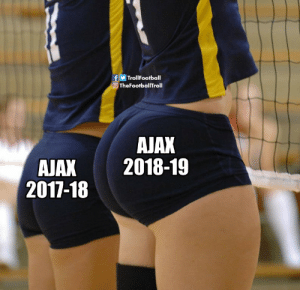 Memes, 🤖, and Jax: TrollFootball  TheFootballTroll  AJAX  JAX 2018-19  2017-18 If you think otherwise you have no eyes https://t.co/jwkZjNikRj