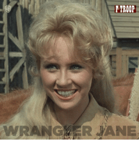 "Our ""Woman Crush Wednesday"" is Wrangler Jane of course! In loving memory of Melody Patterson.: TROOP.  wRANG AR ANE Our ""Woman Crush Wednesday"" is Wrangler Jane of course! In loving memory of Melody Patterson."