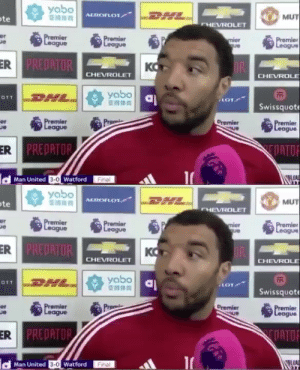 Troy Deeney speaking after Watford's 3-0 loss to Man Utd last week... he knew all along. https://t.co/vT8sqJgZxj: Troy Deeney speaking after Watford's 3-0 loss to Man Utd last week... he knew all along. https://t.co/vT8sqJgZxj