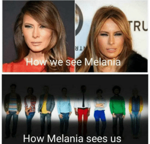 i hav long peripheral vision by aarindiwatee MORE MEMES: TRU  TR  How we see Melania  How Melania sees us i hav long peripheral vision by aarindiwatee MORE MEMES