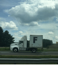 Truck bringing in supplies to the grieving families of recently deceased celebrities, (2018 colorized): Truck bringing in supplies to the grieving families of recently deceased celebrities, (2018 colorized)