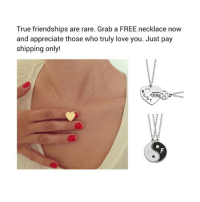 Get a FREE Necklace for those who truly love you...Just cover shipping! Offer ends soon...Click link in bio & claim yours now while they last 🏃🏼‍♀️ Tag your bff-bae For more exclusive deals like, Follow: @dope.steeze @dope.steeze ad: True friendships are rare. Grab a FREE necklace now  and appreciate those who truly love you. Just pay  shipping only!  RIENDS Get a FREE Necklace for those who truly love you...Just cover shipping! Offer ends soon...Click link in bio & claim yours now while they last 🏃🏼‍♀️ Tag your bff-bae For more exclusive deals like, Follow: @dope.steeze @dope.steeze ad