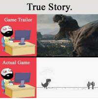Memes, 🤖, and Trailor: True Story  Game Trailor  Actual Game
