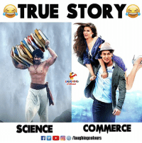 True, Science, and True Story: TRUE STORY  LAUGHING  SCIENCE  COMMERCE