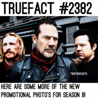 These look so good! It's getting closer, who's excited?! TheWalkingDead TWD WalkingDead - Co-Owner: TRUEFACT #2382  TWDTRUEFACTS  HERE ARE SOME MORE OF THE NEW  PROMOTIONAL PHOTO'S FOR SEASON 8 These look so good! It's getting closer, who's excited?! TheWalkingDead TWD WalkingDead - Co-Owner
