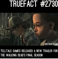 Um... foreshadowing Clementine's death.... my heart is not ready for this... a playthrough from me will happen once it comes out ! walkingdead thewalkingdead twd: TRUEFACT #2730  TWDTRUEFACTS  TELLTALE GAMES RELEASED A NEW TRAILER FOR  THE WALKING DEAD'S FINAL SEASON Um... foreshadowing Clementine's death.... my heart is not ready for this... a playthrough from me will happen once it comes out ! walkingdead thewalkingdead twd