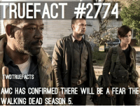 Any FearTWD fans? TWD TheWalkingDead WalkingDead Fear FearTWD FearTheWalkingDead: TRUEFACT #2774  TWDTRUEFACTS  CASNFIRMED THERE WILL BE A FEAR THE  AM  WALKING DEAD SEASON 5. Any FearTWD fans? TWD TheWalkingDead WalkingDead Fear FearTWD FearTheWalkingDead