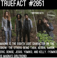 👭👬👩❤️💋👩👨❤️💋👨👩❤️👩👨❤️👨👩👩👧👨👨👦 thewalkingdead twd walkingdead: TRUEFACT #285  CLUS  TWDTRUEFACTS  Entertainment  MABNAISTHEEIGHTH LGBT CHARACTER ON THE  SHOW. THE OTHERS BEING TARA, ALISHA, AARON  ERIC DENISE, JESUS, YUMIKO, AND KELLY ựUMIKO  S MAGNA'S GIRLFRIEND) 👭👬👩❤️💋👩👨❤️💋👨👩❤️👩👨❤️👨👩👩👧👨👨👦 thewalkingdead twd walkingdead