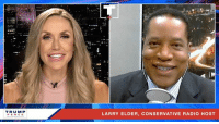 Radio, Conservative, and Leadership: TRUM P  PENCE  LARRY ELDER, CONSERVATIVE RADIO HOST The Democrats HATE to see that America's economy is BOOMING under my leadership!