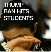 Donald Trump, Memes, and 🤖: TRUMP  BAN HITS  STUDENTS ​2 FEB: 'I do not belong here'. President Donald Trump's ban on immigration from seven countries is causing anxiety and distress among students who are legally in the US to study. See an alternative view of the Trump presidency, with his voters saying he is 'doing a fabulous job': bbc.in-fabulous ImmigrationBan Immigrants Immigration Trump DonaldTrump USTravelBan BBCShorts BBCNews @BBCNews Video journalists: @charlienorthcott @s.auer