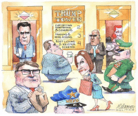 Memes, Boots, and 🤖: TRUMP  CURTSEYING  KOW TOWING  &CowERING.  FAWNING &  RING KISSING  BOOT LICKING.  & KEISTER  KISSING  POLITICO Matt Wuerker, Politico