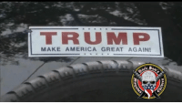 "America, Memes, and Run: TRUMP  MAKE AMERICA GREAT AGAIN ""She said to me. . . 'Did you vote for Trump?'"" A hit and run victim said he was targeted because of his Make America Great Again bumper sticker"
