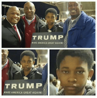 When your dad & uncle got you involved in some bullshit & you know it, but can't say anything.: TRUMP  MAKE AMERICA GREAT AGAIN!  TRUMP  MAKE AMERICA GREAT AGAIN When your dad & uncle got you involved in some bullshit & you know it, but can't say anything.