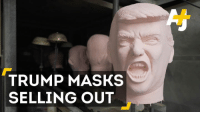 Memes, Japan, and Mask: TRUMP MASKS  SELLING OUT Donald Trump's win has sparked an unlikely boom in Japan: Trump masks. They're helping to lighten the mood.