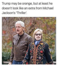 """<p>The Walking Dead via /r/memes <a href=""""http://ift.tt/2lPEwGu"""">http://ift.tt/2lPEwGu</a></p>: Trump may be orange, but at least he  doesn't look like an extra from Michael  Jackson's 'Thriller  et <p>The Walking Dead via /r/memes <a href=""""http://ift.tt/2lPEwGu"""">http://ift.tt/2lPEwGu</a></p>"""