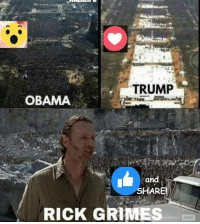 #TheWalkingDead fans, be great if I could get at least 2% OF YOU to VOTE for Rick Grimes today. :)  LIKE my Elliot Van Orman Productions page for more.: TRUMP  OBAMA  and  SHARE!  RICK GRIMES #TheWalkingDead fans, be great if I could get at least 2% OF YOU to VOTE for Rick Grimes today. :)  LIKE my Elliot Van Orman Productions page for more.
