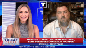 Thank God for our BRAVE men and women in uniform!: TRUMP  PEN CE  MARCUS LUTTRELL, VETERAN NAVY SEAL,  LONE SURVIVOR FOUNDATION FOUNDER  STUDIO 45 TRUMP TOWER  TEXT TRUMP TO 88022 TO SUBSCRIBE Thank God for our BRAVE men and women in uniform!