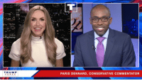 While the Democrats openly embrace socialism and violence against Republicans, I embrace FREEDOM and OPPORTUNITY for ALL Americans!: TRUMP  PENCE  PARIS DENNARD, CONSERVATIVE COMMENTATOR While the Democrats openly embrace socialism and violence against Republicans, I embrace FREEDOM and OPPORTUNITY for ALL Americans!