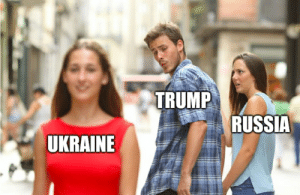 Once a cheater always a cheater.: TRUMP  RUSSIA  UKRAINE Once a cheater always a cheater.