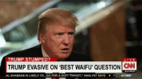 the only thing that he flip flops on - Shinji's Third Reich: TRUMP STUMPED?  LIVE  TRUMPEVASIVE ON BEST WAIFU, QUESTION CNN  B V4 PM ET  .AL-SHABAAB IS LIKELY TO...GO FOR A SOFTTARGET. ANALYST SAYS F AC360 the only thing that he flip flops on - Shinji's Third Reich