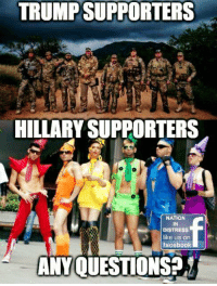 Cant say I'm shakin in my boots just yet...-Patriot: TRUMP SUPPORTERS  HILLARY SUPPORTERS  NATION  IN  DISTRESS  like us on  facebook  ANY QUESTIONS? Cant say I'm shakin in my boots just yet...-Patriot