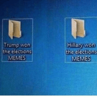 Memes, Trump, and Election: Trump won  the elections  MEMESİ  Hillary won  the election  MEMES <p>You Guys Ready?</p>