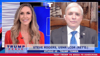 American, Heroes, and Text: TRUMPI  STEVE ROGERS, USNR LCDR (RET'D.)  STUDIO 45 TRUMP TOWER  PEN CE  TEXT TRUMP TO 88022 TO SUBSCRIBE Today we salute the generations upon generations of American heroes who have sacrificed so much to secure the blessings of freedom for their fellow Americans.