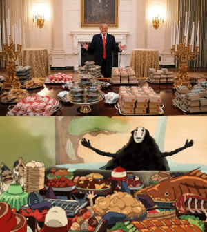 Dank, Memes, and Target: Trumps dinner by cheez12 MORE MEMES